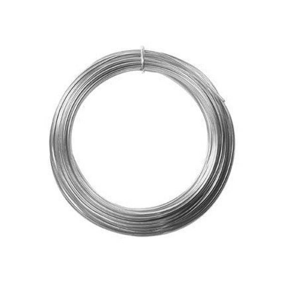 Anodized Aluminum Wire 12 Gauge Silver 41263 Jewelry Wire ...
