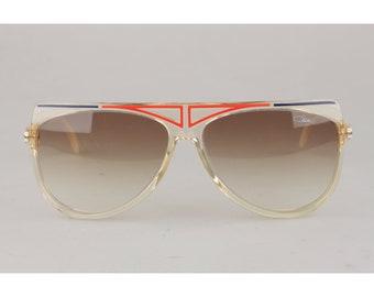 f1c300031b26 Authentic Cazal Vintage Rare Unisex Large Sunglasses Mod. 355 Original Lens  65mm