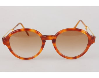9da8bbcc3924d Authentic Moschino by Persol Vintage Round Mint Sunglasses Mod M06 53mm  Never Worn