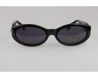 36fd8ef9d695 Authentic Gianni Versace Vintage Black Womens Mint Sunglasses Mod 292M Col  N52 Never Worn