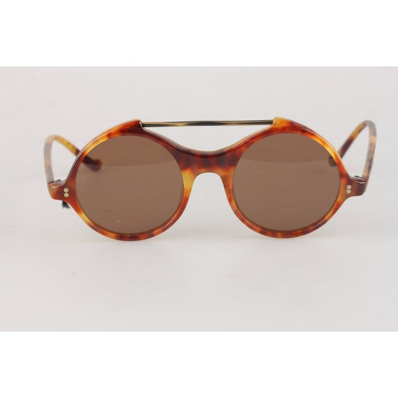 f0077168ab Authentique Gianni Versace Vintage ronde menthe lunettes de | Etsy
