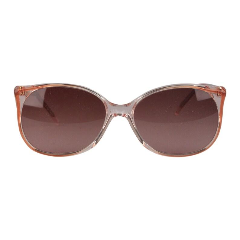 057cc904d5 Authentic YVES SAINT LAURENT Vintage Round Women Sunglasses