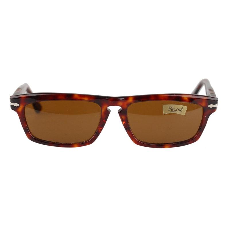 d05c2a59cf06 Authentic Persol Vintage Brown Acetate Tortoise Sunglasses   Etsy