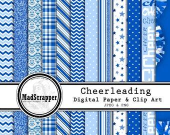 15b47649e7f24 Digital Scrapbook Paper High School Middle School 12 Patterns   Etsy