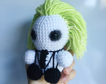 Crochet Beetlejuice Etsy