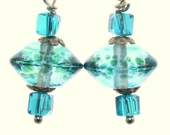 Pale Aqua Earrings