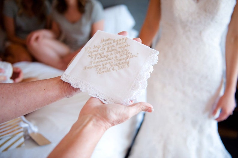 Lace Handkerchief  Lace Hankie  Custom Handkerchief  image 0