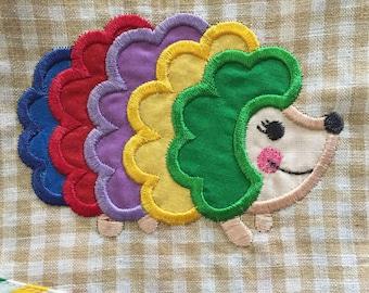 Hedgehog Love!!  Girls Easy Wear Summer Dress - Sample Sale Pricing