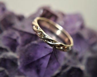 Slim Gold Filled Band-Size 6