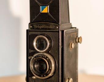 Voigtländer Brillant German 120MM Film Camera Analog