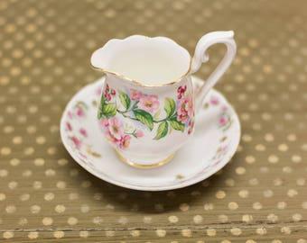 Vintage Royal Albert Bone China Floral Tea Coffee Cup With Saucer England