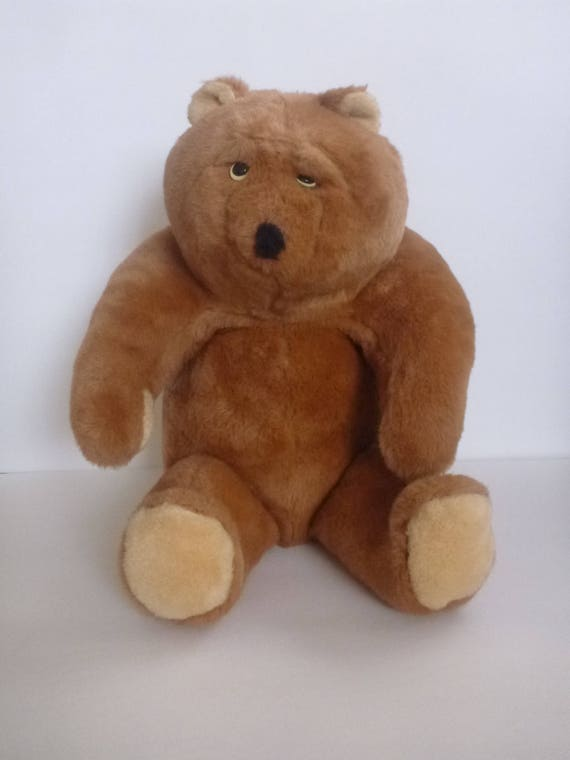 Animal Fair Inc Plush Teddy Bear Stuffed Animal Brown Teddy Etsy