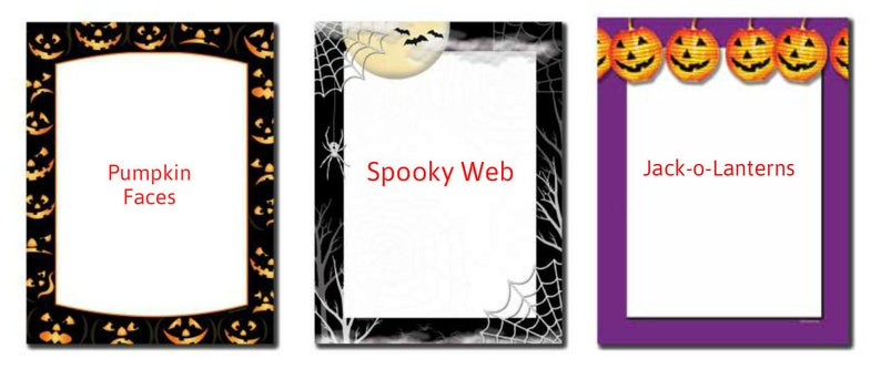 25 or 100pk Awakening Halloween Letterhead