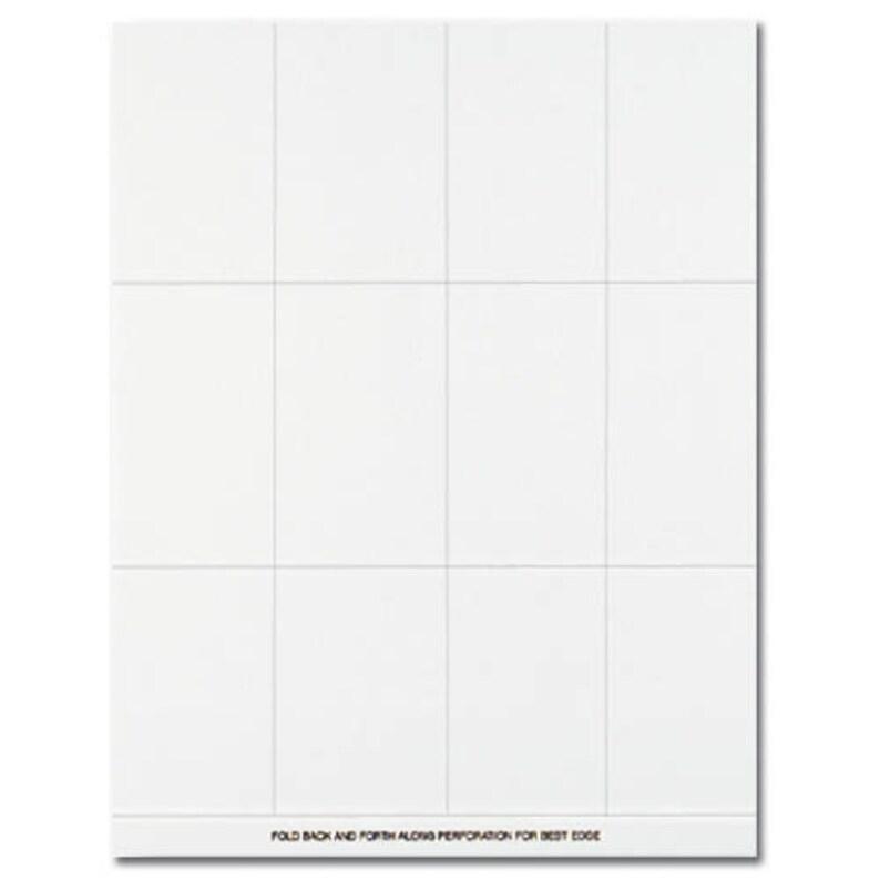 Plain White Place Cards Bridal Shower Wedding Place Cards 60pk