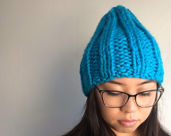 Adult Rocco Knit Beanie in Maui Aqua