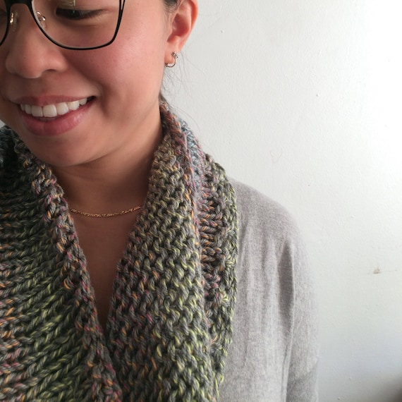 Light and Loose Multi Colored Cowl