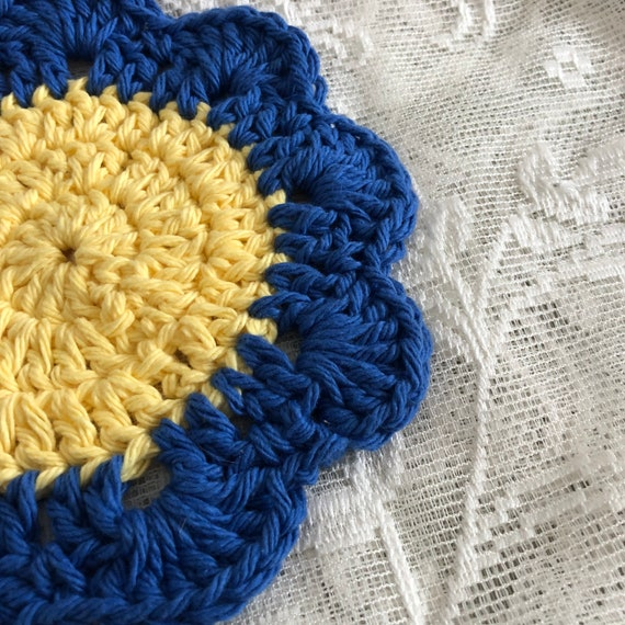 Blue Flower Mug Coaster