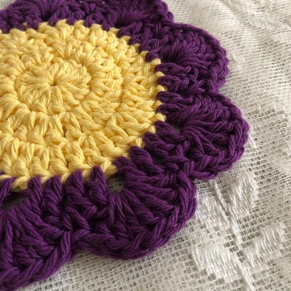 Purple Flower Mug Coaster
