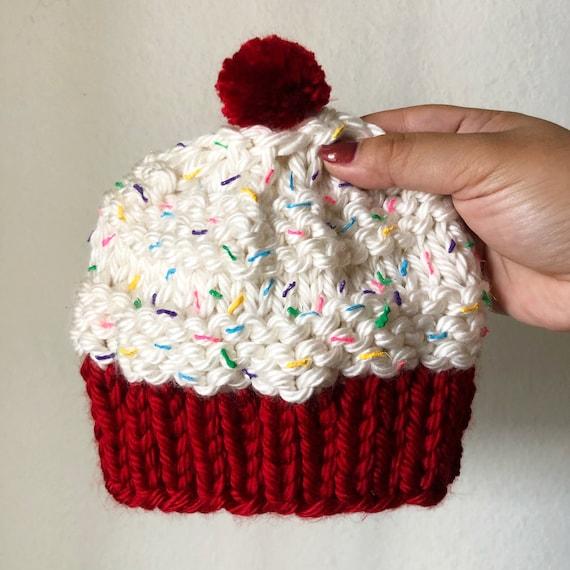 Red Velvet Cupcake Beanie