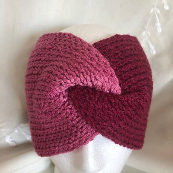 Knit Gradient Pinks Headband