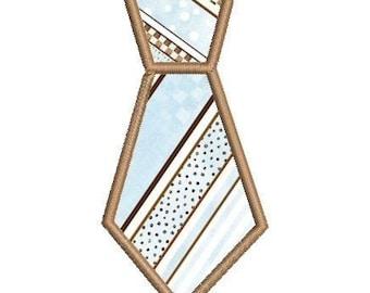 Applique Embroidery Necktie Tie for Baby boys
