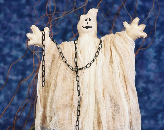 Ghost - Mailed Cloth Doll Pattern Halloween Ghost