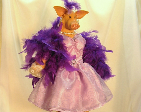 Collectible Doll High Fashion Pig