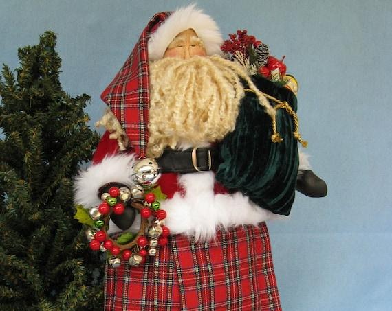 Celtic Santa - Cloth Doll E-Pattern 22 inch Celtic Santa Doll Epattern