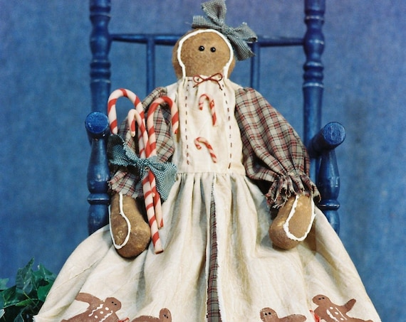 OOAK Christmas Gingerbread Collectible Prototype Doll