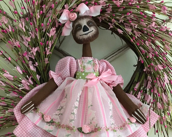 Mailed Cloth Doll Pattern Susie Sloth