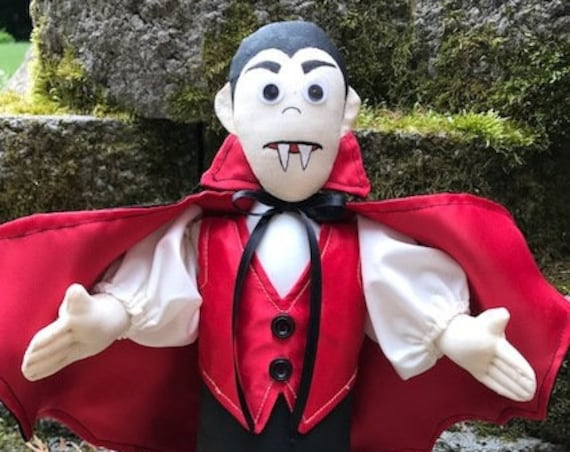 Count Dracula Cloth Doll E-pattern