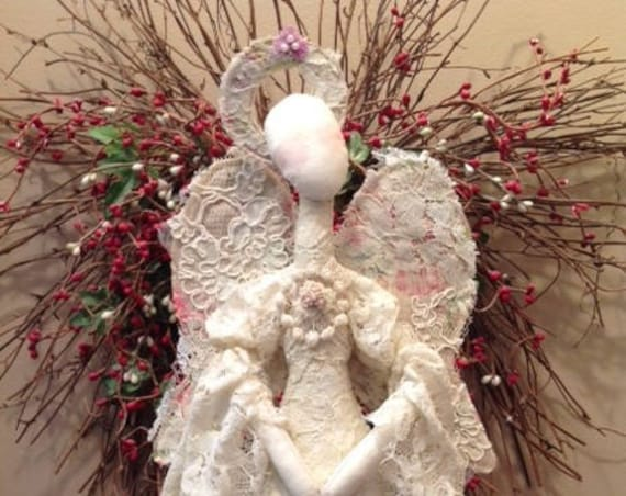 Lady Marion - Cloth Doll E-Pattern Fabric Art Angel Doll