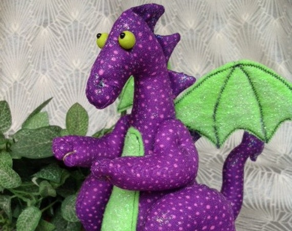 Drago - Mailed Cloth Doll sewing pattern Cute little Dragon