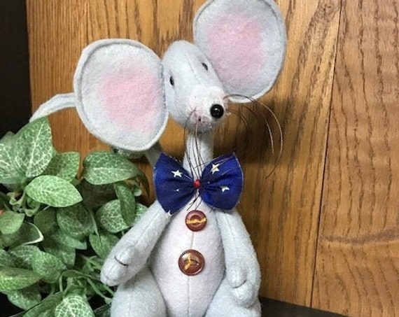 Mailed Cloth Doll Pattern Marek the Mouse Doll Pattern