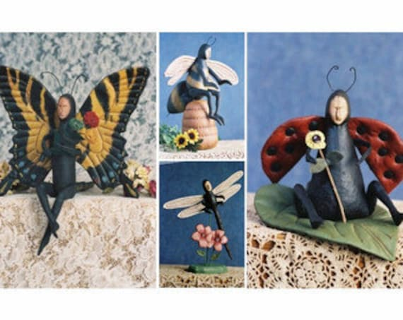 Mailed Cloth Doll Pattern 4 Bug Collection Special Price
