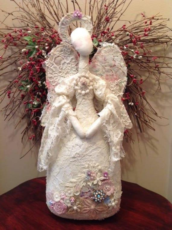 Lady Marion - Cloth Doll E-Pattern Fabric Art Angel Doll