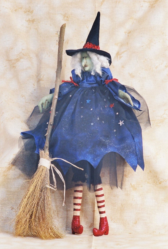 Ruby - Mailed Cloth Doll Pattern - 26in Halloween Witch