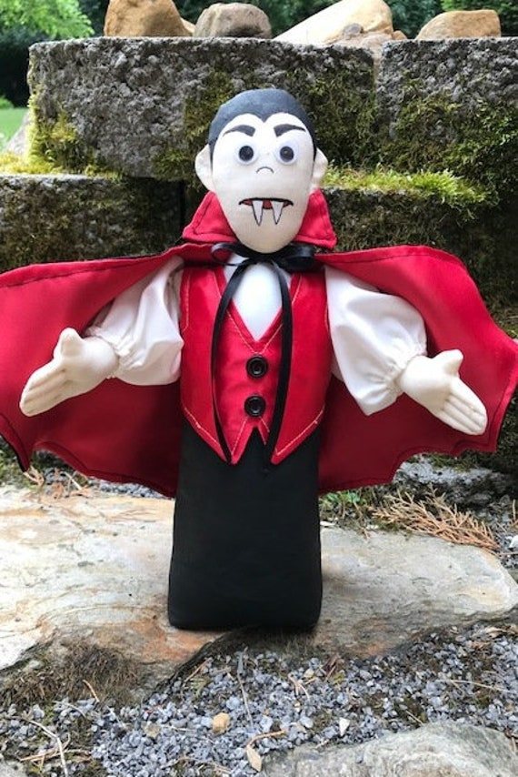 Count Dracula Cloth Doll E-pattern