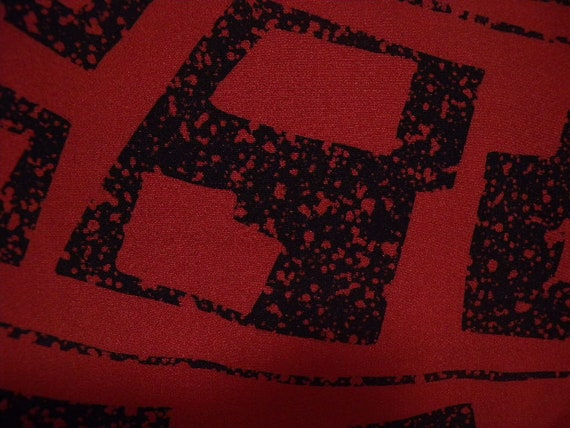 Vintage haori Se 1679,  brick red silk
