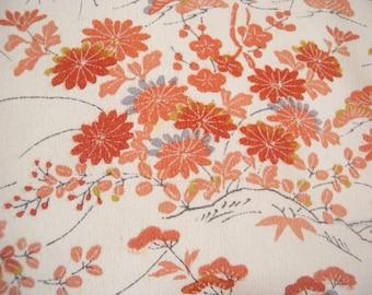 Vintage haori  S2044 cream colored   silk