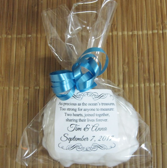 Personalized Beach Wedding Favors Seashell Soap Wedding Etsy