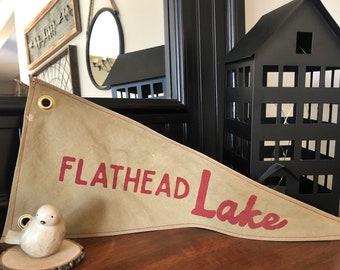 CUSTOM Lake Pennant - KHAKI fabric