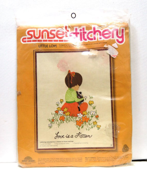Sunset Stitchery Crewel Embroidery Kit Your Choice