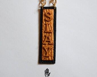 Speak Your Mind Necklace - SLAY