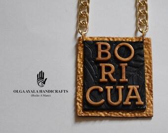 Speak Your Mind Necklace - BORICUA