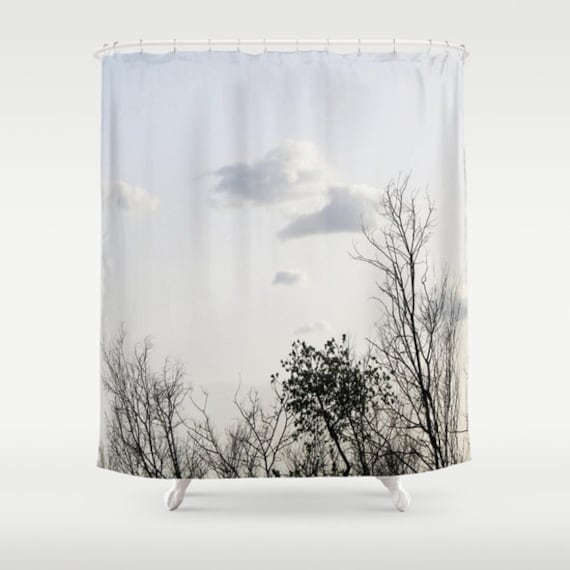 Trees Shower Curtain, Bathroom, Tree Home Decor, Naturel Photo Shower Curtain, Whimsical Shower Curtain, Mysterious Shower Curtain, Branches