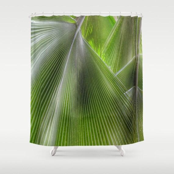 Dschungel-Palmen-Duschvorhang Bad Dschungel Wohnkultur | Etsy
