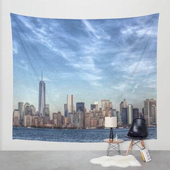 Landschaft Duschvorhang Städtische Skyline von NYC