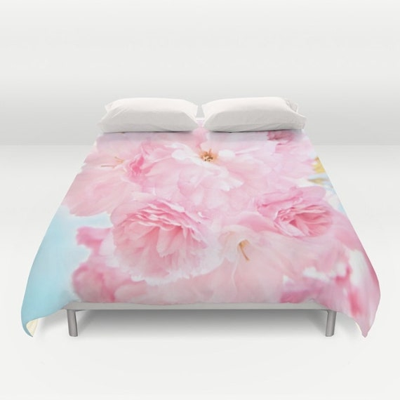 Peony Duvet Cover, Peony Bedding, Flower bedding, Pink, Nature Cover, Dorm, Hotel, Beach,Summer, Flower Duvet Cover, Twin, Full, Queen, King