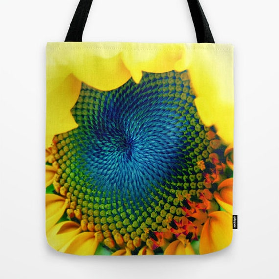 Sunflower Tote Bag, 13x13, 16x16, 18x18, Yellow, Flower, Beach Tote, Shopping, Office, Shoulder Bag, Market Tote, Fashion, Floral, Trend